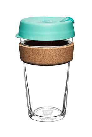 Cana Keepcup 454 ml, cu pluta, verde