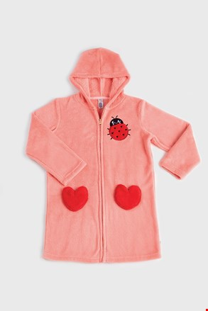 Halat pentru fetițe Ladybug corai