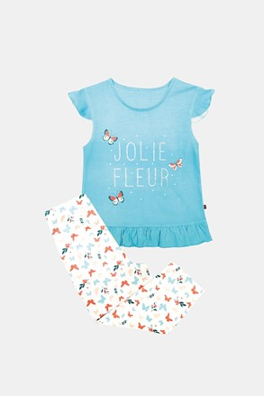 Pijama fetiţe Lila, albastru
