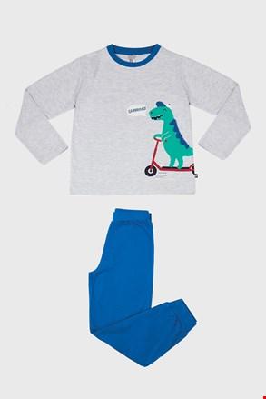 Pijama pentru băieți Dino gri
