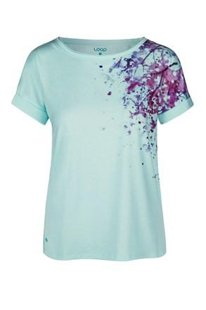 Tricou pentru femei LOAP Alyssa, albastru