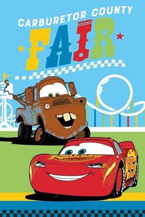 Prosop pentru copii Cars