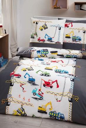Lenjerie de pat de lux Constructor pentru baieti