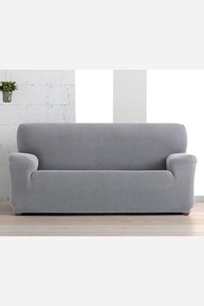 Husa Creta pentru canapea cu trei locuri, alb-negru