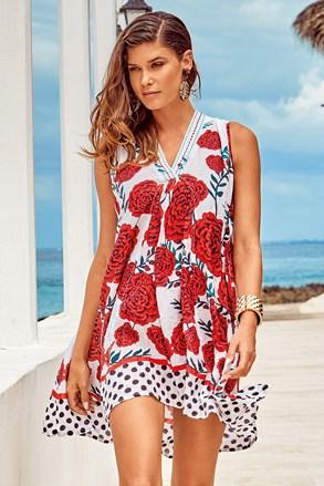Rochie de plaja Itaca red