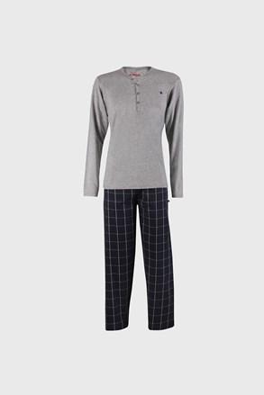 Pijama Calebron, gri-albastru