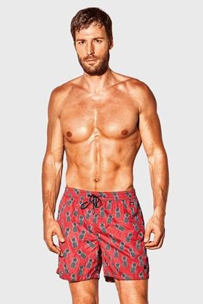 Pantalon scurt de baie David 52 Caicco roșu