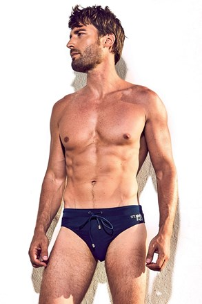 Slip de baie barbatesc DAVID 52 Basic Slip Blue