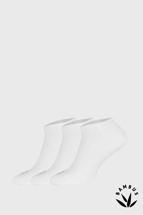 3 PACK sosete Desi alb, fibre de bambus
