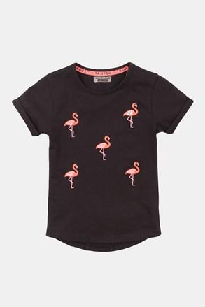 Tricou fetițe Flamingo