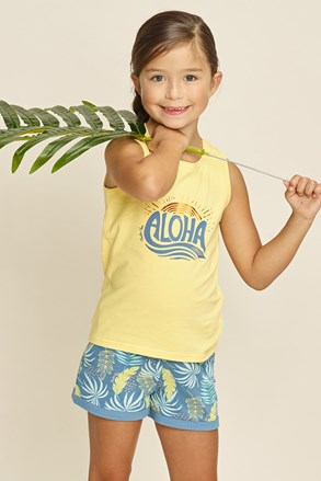 Pijamale fetiţe Aloha Palms I
