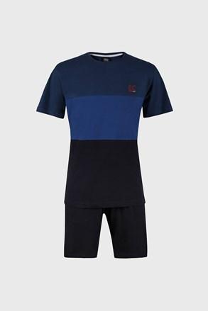 Pijama Hugh, albastru