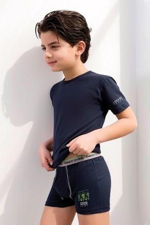 Set pentru baieti Enrico Coveri, tricou si boxeri