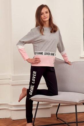 Set haine de casă pentru fetițe Lover