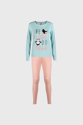 Pijama pentru fetițe Good night mentă