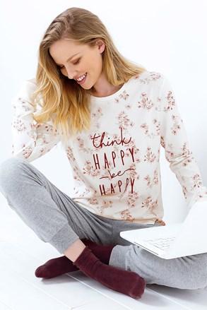 Pijama dama Be Happy melange
