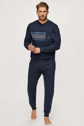 Pijama Adam albastru închis