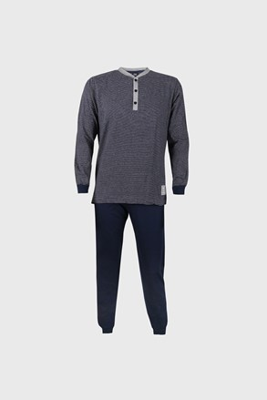 Pijama Bart, albastru, model dungat