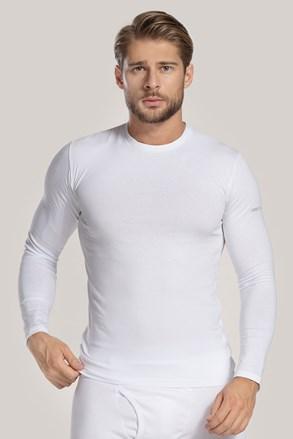 Bluza cu maneca lunga, alb