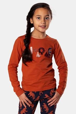 Tricou fetițe Rusty