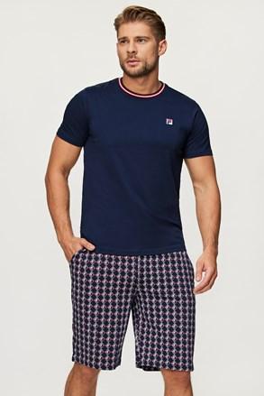 Pijama FILA French Terry albastru închis
