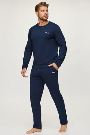 Pijama FILA Jersey albastru închis