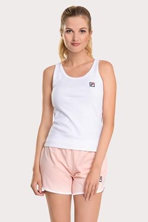 Set damă FILA French terry, alb-roz