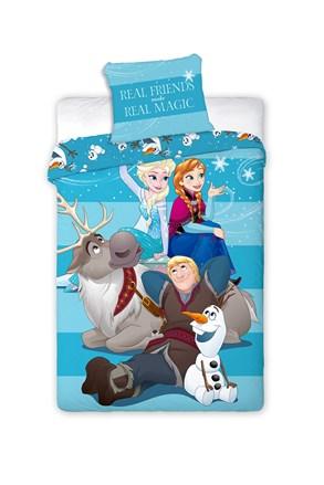 Lenjerie de pat pentru copii Frozen Family
