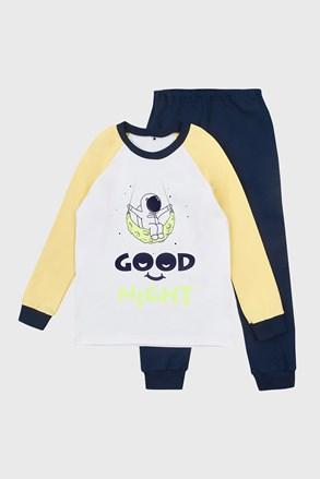 Pijama băieți Good night imprimeu luminos