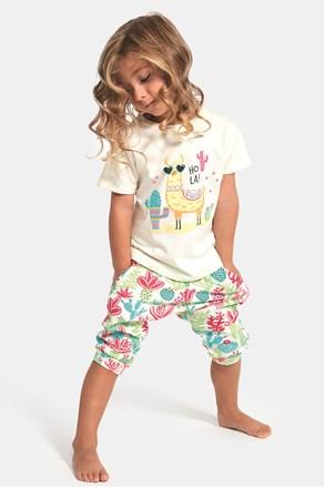 Pijama fetite Hola lama