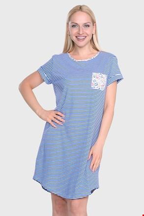 Camasa de noapte Ralph Lauren Blue Stripe