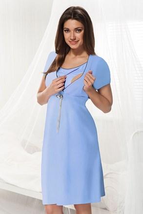 Camasa de noapte Dorota albastru, sarcina si alaptare