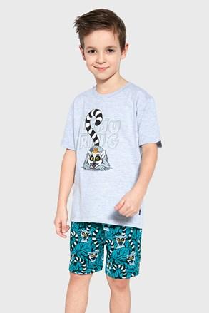 Pijama pentru băieți Lemuring