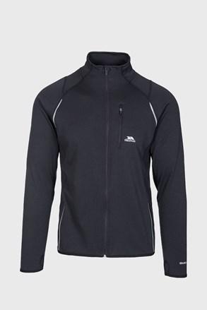 Bluza whiten, material functional, negru