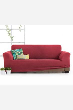 Husa Milos pentru canapea cu trei locuri, rosu