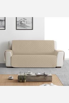 Husa Moorea pentru canapea cu trei locuri, bej