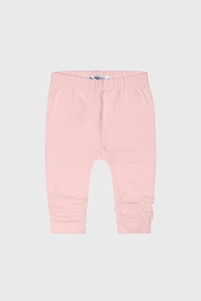Pantalon trening fetițe Babies day roz