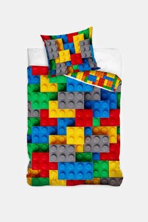 Lenjerie de pat pentru copii Lego
