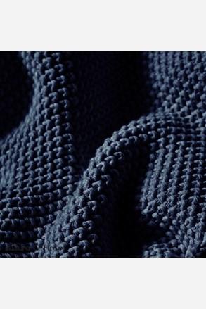 Pled tricotat O´Polo Nordic Indigo