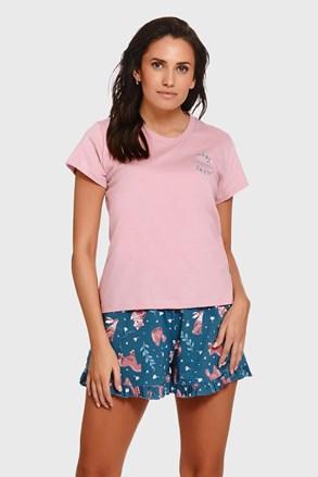 Pijama dama Pure Nature, din bumbac