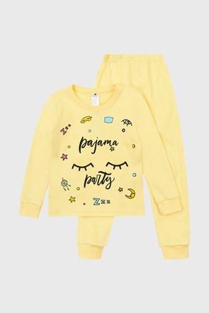 Pijama fetițe Pretty Dream cu imprimeu luminos