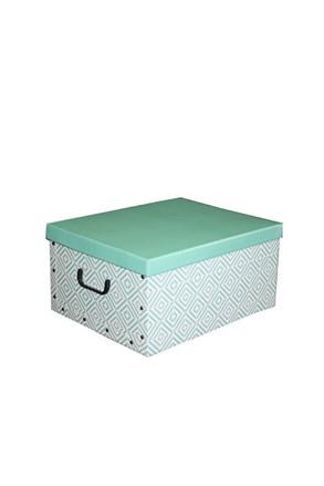 Cutie de depozitare pliabila Nordic, verde