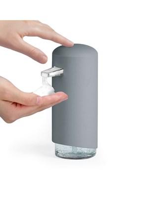 Dozator sapun spuma Compactor, gri