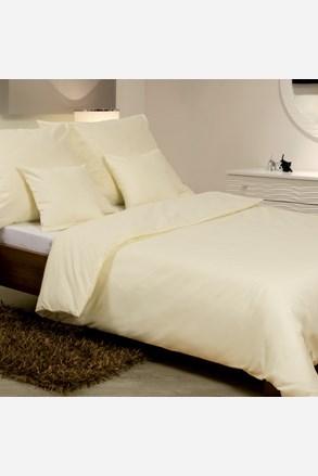 Lenjerie de pat satinată, ecru