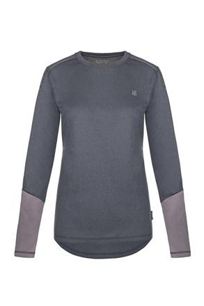 Bluza functionala pentru femei LOAP Peony, gri inchis