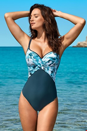 Costum de baie intreg Xena Blue