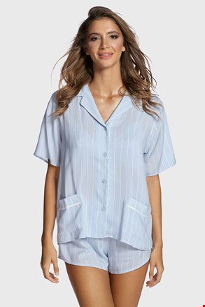 Pijama damă DKNY Logo Stripe
