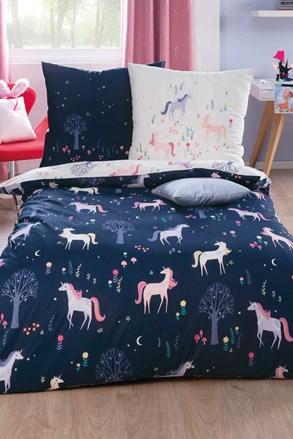 Lenjerie de pat de lux Unicorn pentru copii