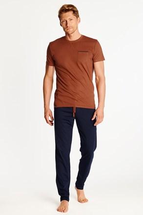 Pijama Zing, oranj-albastru