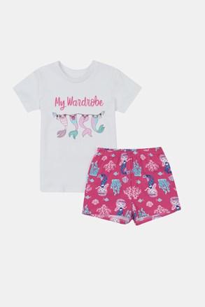 Set de vară Mermaid, pentru fetițe